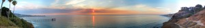 Martin_Johnson_House,_SIO,_La_Jolla_Shores_-_at_sunset_pano