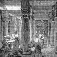 The Great Library of Alexandria, O. Von Corven, 1st century