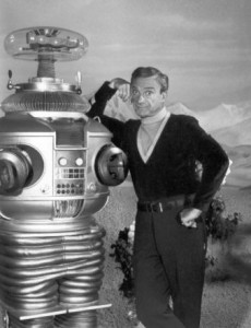 Lost_in_Space_Jonathan_Harris_&_Robot_1967