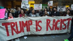 Anti-Trump Protest in New York City